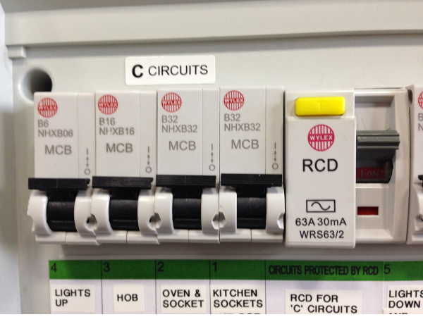 Fuse Box Rcd Switch : Rcd protection fuse box wiring diagram images